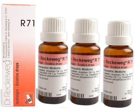 Buy Dr Reckeweg Germany R71 Sciatica Drops Pack Of 3
