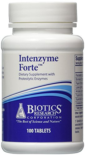 Buy Intenzyme Forte 100 Tabs Biotics